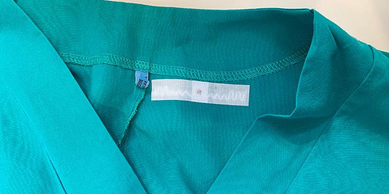401 PA heat-sealed on workwear