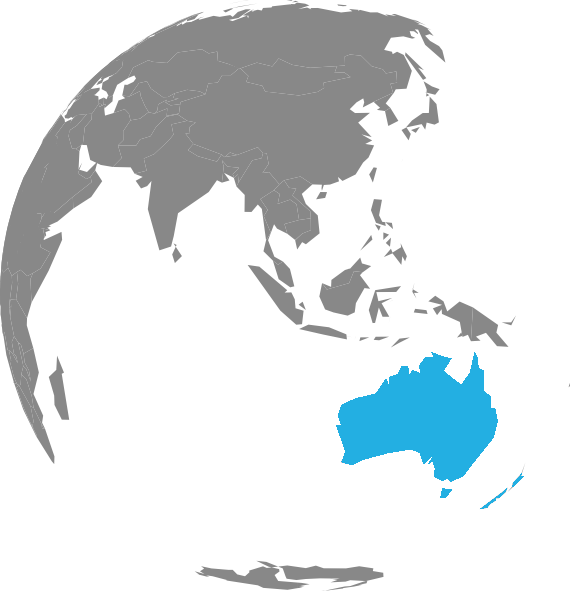 australia new zealand map for datamars program